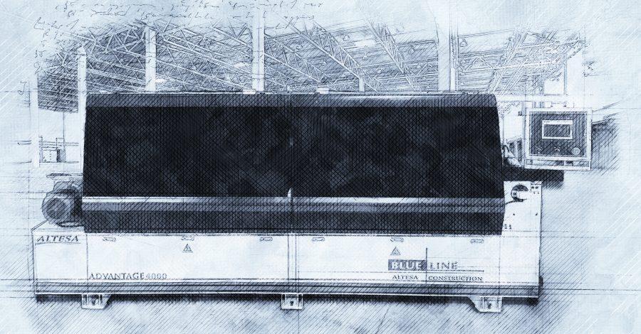 Кромкооблицовочный станок от Altesa Blue Line по специальной цене