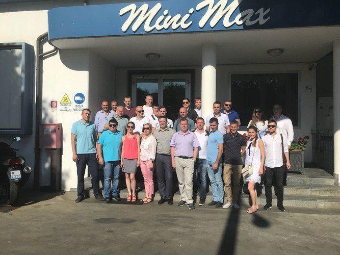 «Интервесп» — на тренинге для дилеров SCM в Италии