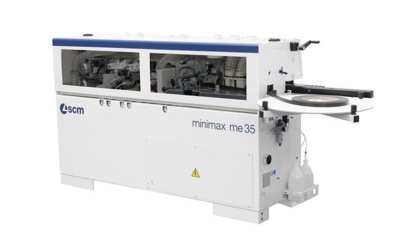 кромкооблицовочный станок scm minimax me 35