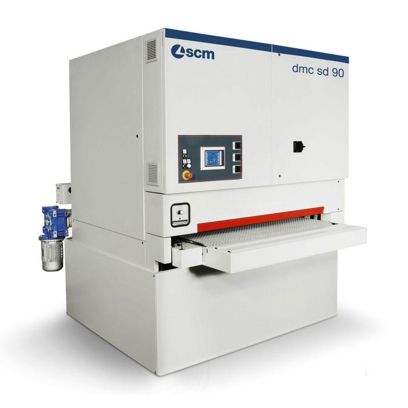 Автоматический широколенточный калибровально-шлифовальный станок SCM (Италия), модель DMC SD 90 RT135