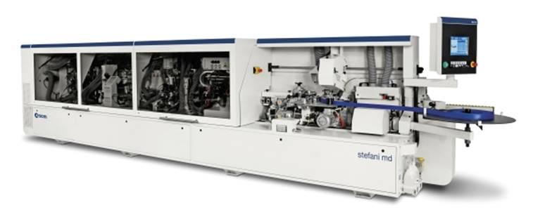 Автоматический кромкооблицовочный станок промышленного класса Stefani MD